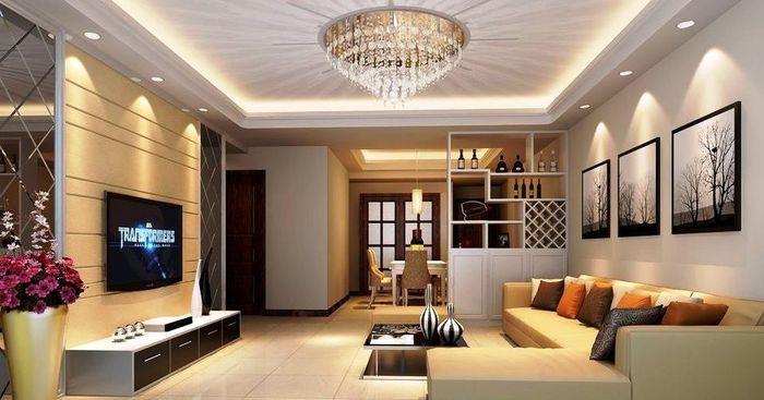 Contoh Gambar Plafon Gypsum Kamar Tidur  yuk kenalan dengan drop ceiling aksen cantik penghias