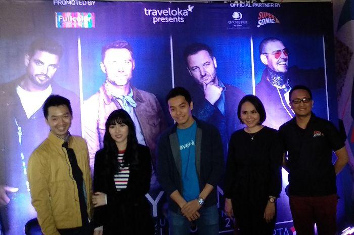 Konferensi pers konser Boyzone yang bertajuk 'Thank You & Goodnight Farewell Tour 2019' saat ditemui Grid.ID di Doubletree by Hilton, Menteng, Jakarta Pusat pada Rabu (6/3/2019)