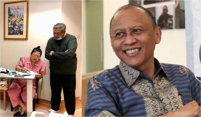 Adik kandung Ani Yudhoyono, Pramono Edhie Wibowo yang berniat jadi donor sumsum tulang belakang