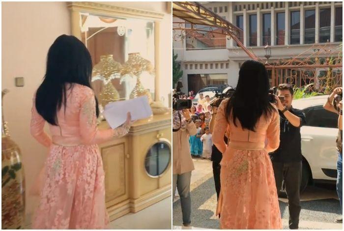 Berinterior Serba Emas dan Garasi Tembus Pandang, Rumah Syahrini Mewah Bak Istana!