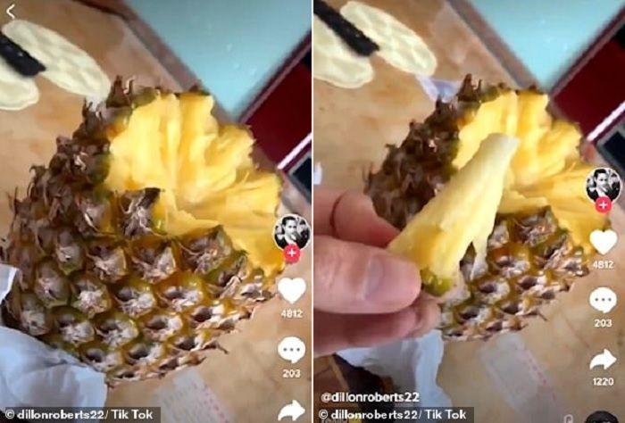 Cara mengupas nanas dengan lebih mudah