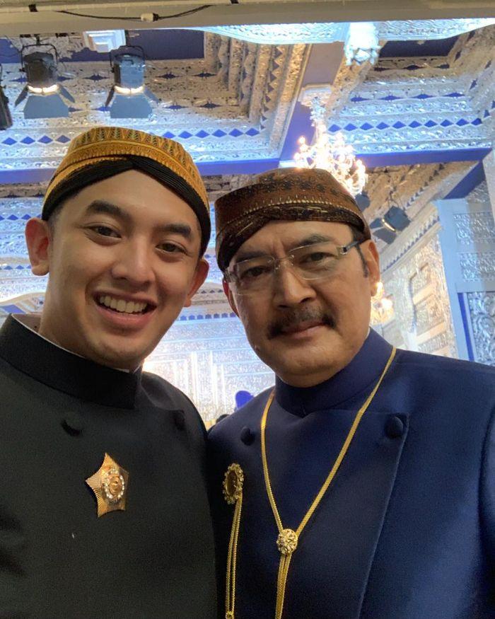 Bambang Trihatmodjo di nikahan anaknya