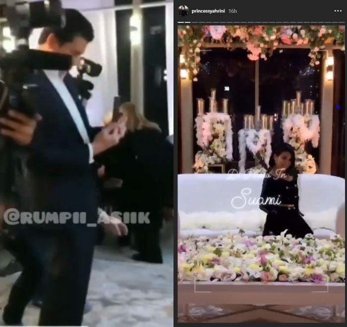 Reino Barack rela memotret Syahrini demi instagram story