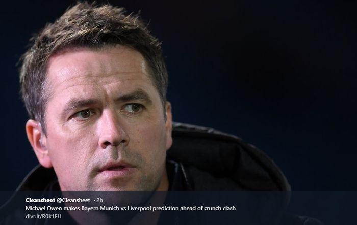 Mantan penyerang Liverpool, Michael Owen