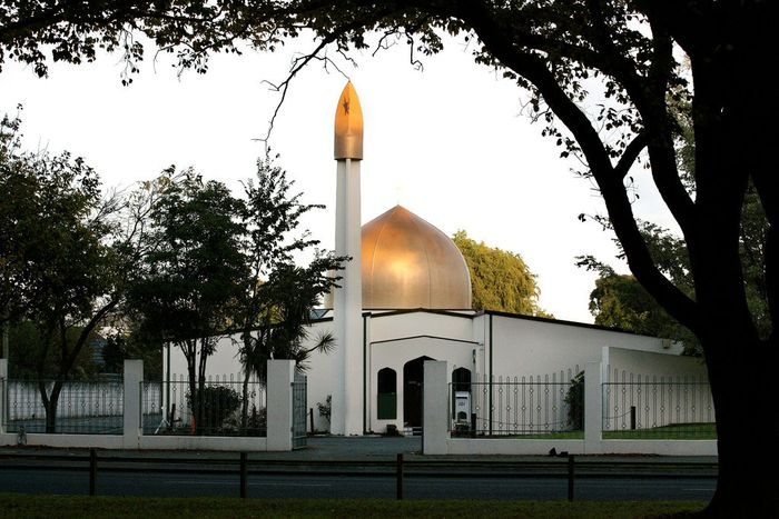 Masjid Al Noor, kota Christchurch, Selandia Baru.