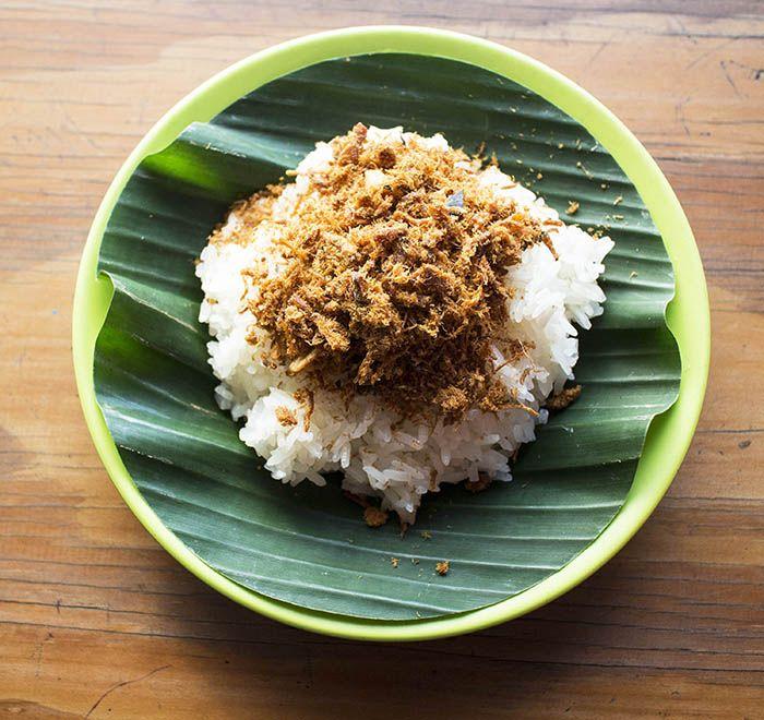 Ilustrasi nasi ketan
