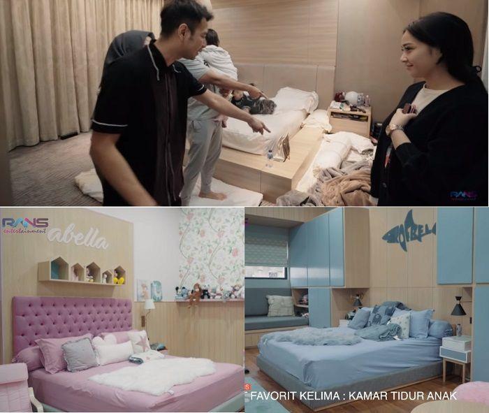 Kamar keluarga Ahmad Sahroni