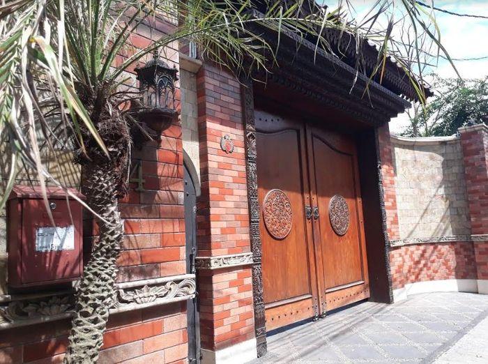 Rumah ketua umum Partai Persatuan Pembangunan atau PPP, Romahurmuziy atau Gus Rommy di Kawasan Condet, Jakarta Timur.