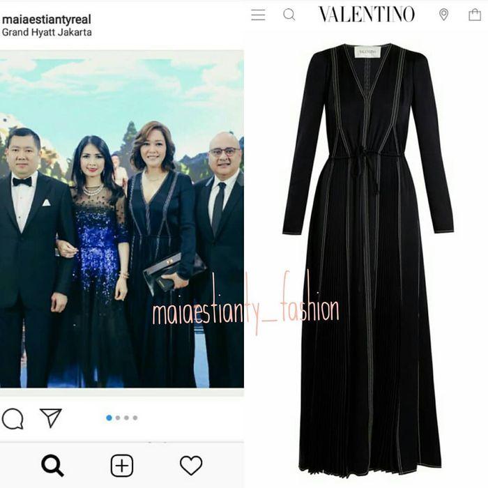 Harga dress MAia Estianty