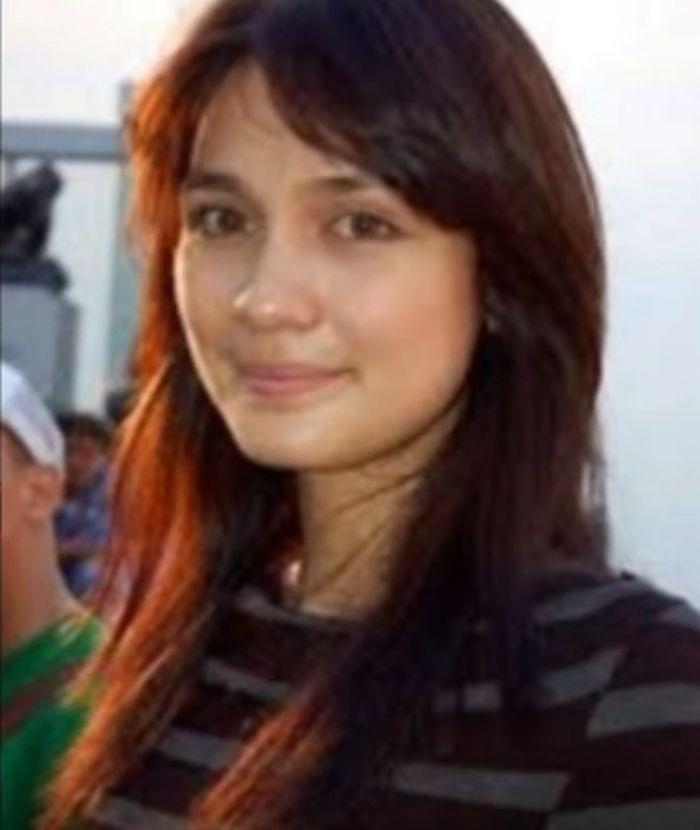 Luna Maya saat kolaborasi dengan ban Hijau Daun. (YouTube Before And After)