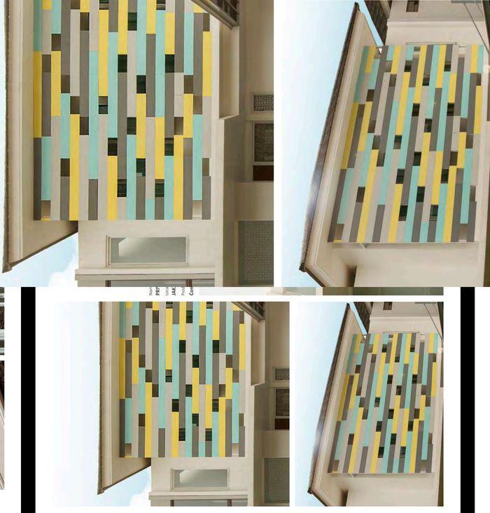 Diproduksi dengan warna abu, panel dekoratif <a href='https://bangka.tribunnews.com/tag/conwood' title='Conwood'>Conwood</a> dapat dicat sesuai selera dengan menggunakan cat berbasis air.
