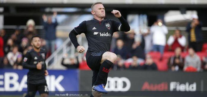 Penyerang DC United, Wayne Rooney, cetak hatrick dalam matchweek ketiga MLS melawan Real Salt Lake, Sabtu (16/3/2019).