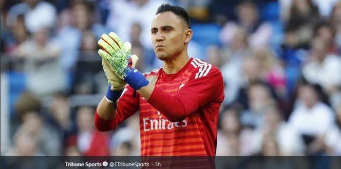 Penjaga gawang Real Madrid asal Kosta Rika, Keylor Navas.