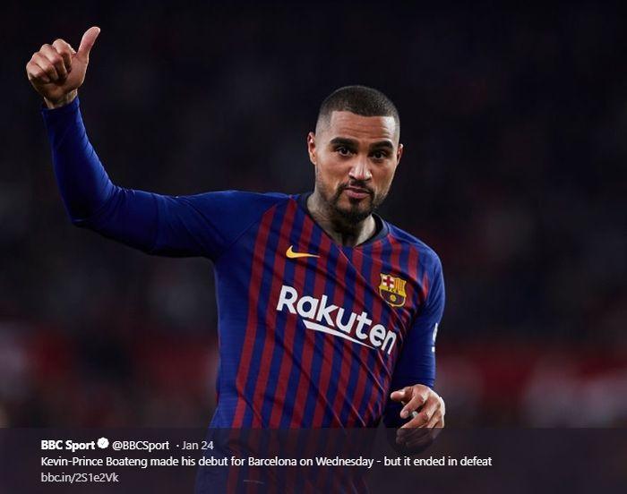 Penyerang Barcelona, Kevin-Prince Boateng