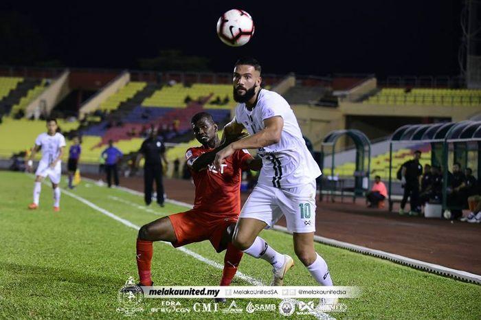 Pemain Melaka United, Liridon Krasniqi.