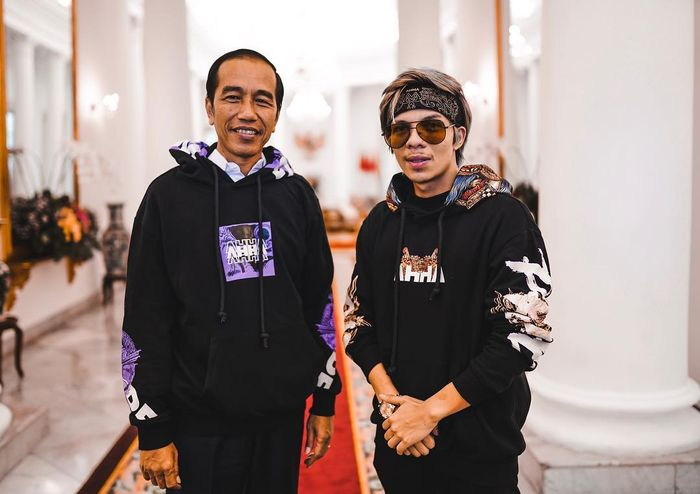 Presiden Jokowi dan Atta Halilintar