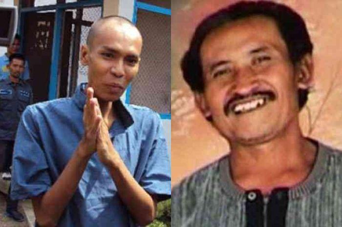 Ryang Jagal Jombang (kiri) dan Siswanto 'Robot Gedek' (kanan)