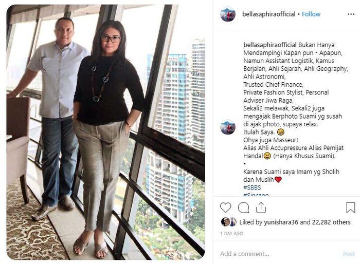 Bella Saphira curhat soal tugasnya sebagai seorang istri dari petinggi TNI selama 5 tahun terakhir.