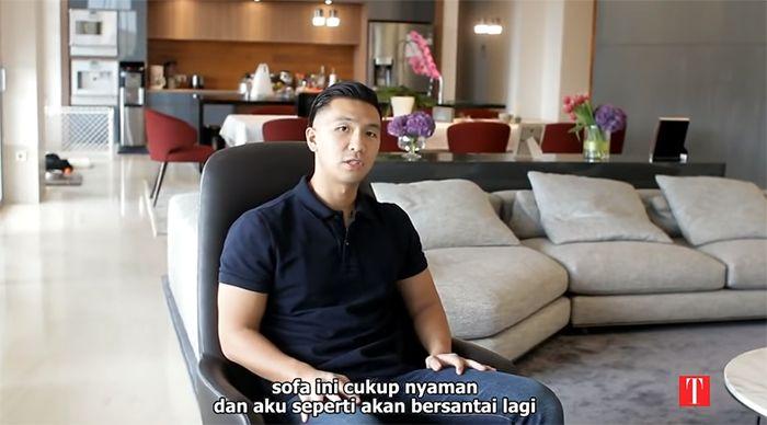 Apartemen Indra Priawan, pacar Nikita Willy