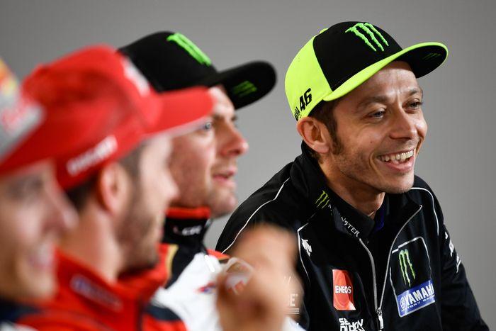 Valentino Rossi di sesi jumpa pers MotoGP Argentina