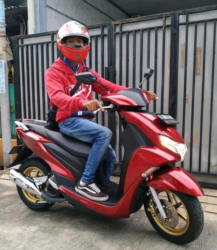 Heru, pengguna Yamaha FreeGo