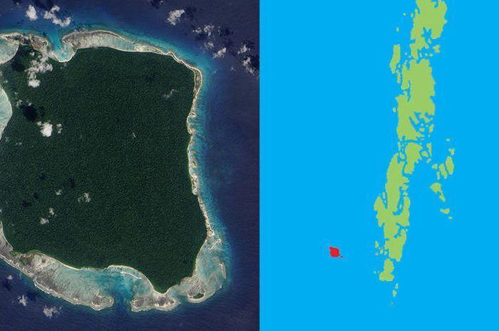 Letak Pulau Sentinel