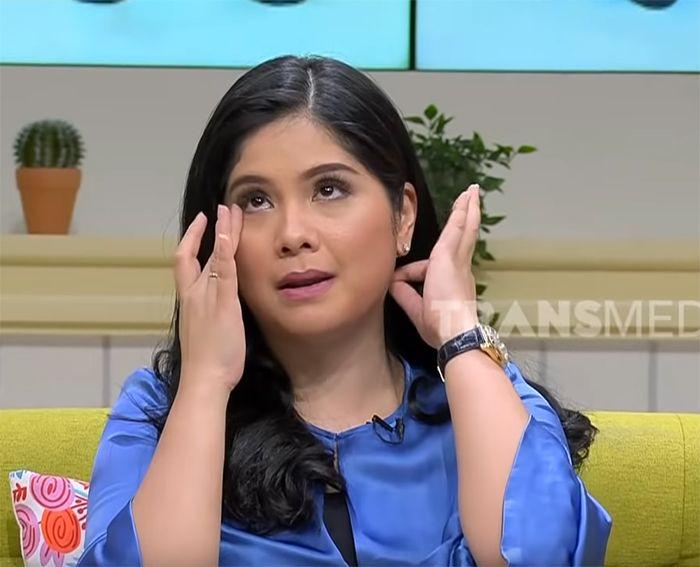 Annisa Pohan menangis saat ceritakan kondisi Ani Yudhoyono