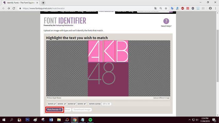 Cara Mengetahui Jenis Font Pada Gambar Desainer Merapat Yuk Semua Halaman Nextren Grid Id