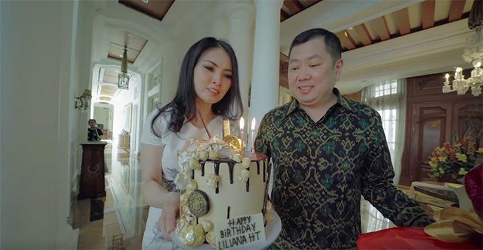 Kejutan ulang tahun Liliana Tanoesoedibjo