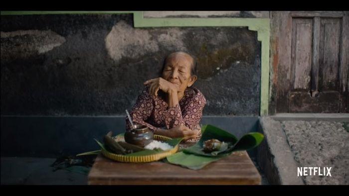 Lupis Mbah Satinem dalam serial Netflix 'Street Food'