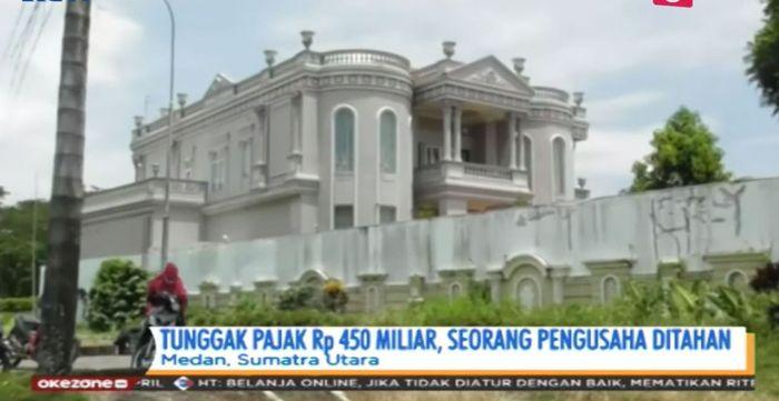 Rumah milik petinggi PT Agrindo Sumatera.