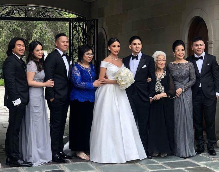 Resepsi pernikahan Aditya Trihatmodjo di Los Angeles