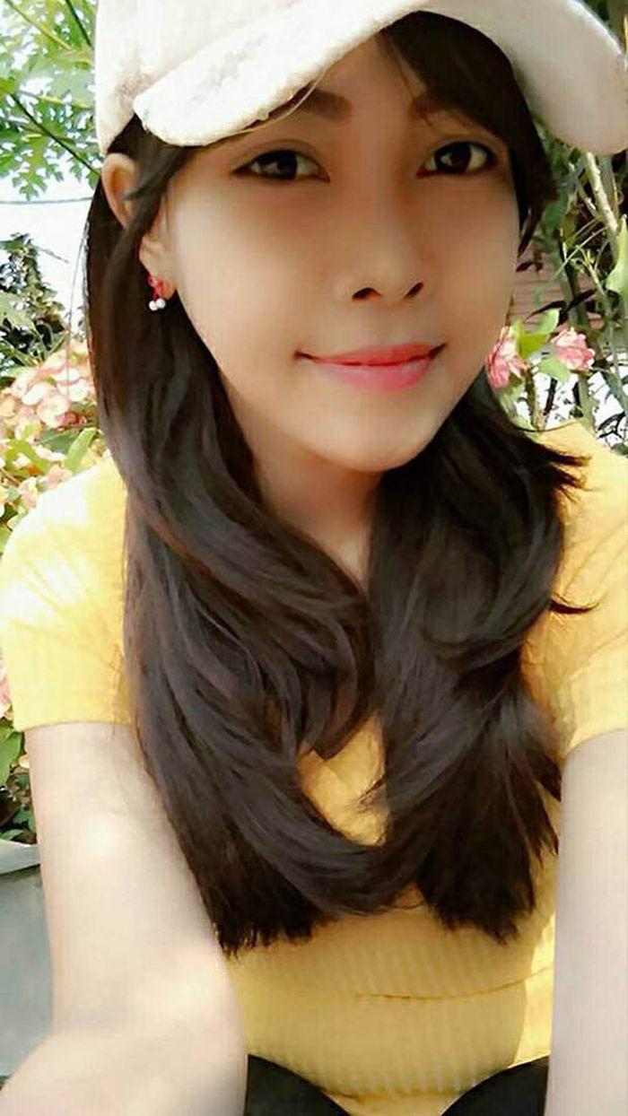Wajah Jenie Yoo sebelum terkena kanker