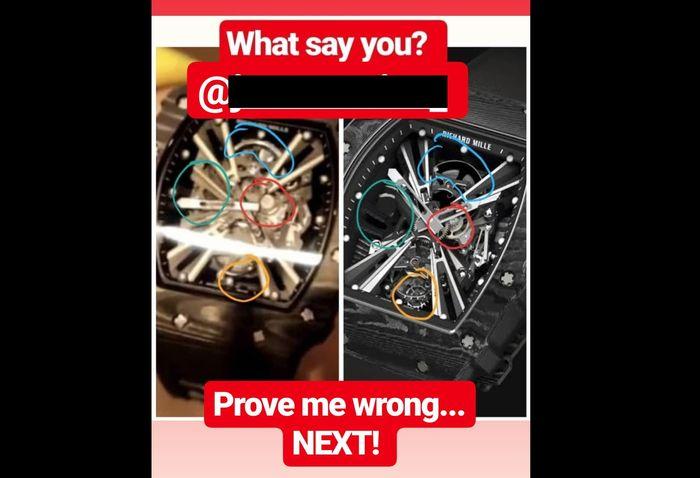 @simonzzo buktikan bahwa jam tangan Rp 12 M milik Jason cuma barang KW.