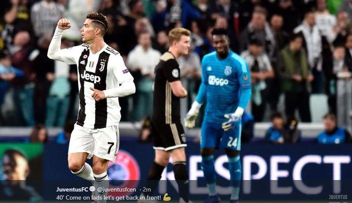 Image result for Demi Liga Champions, Ronaldo Rela Juventus Dilatih Guardiola