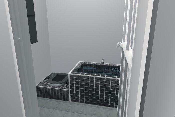 ruang utilitas yang pas untuk rumah tangga