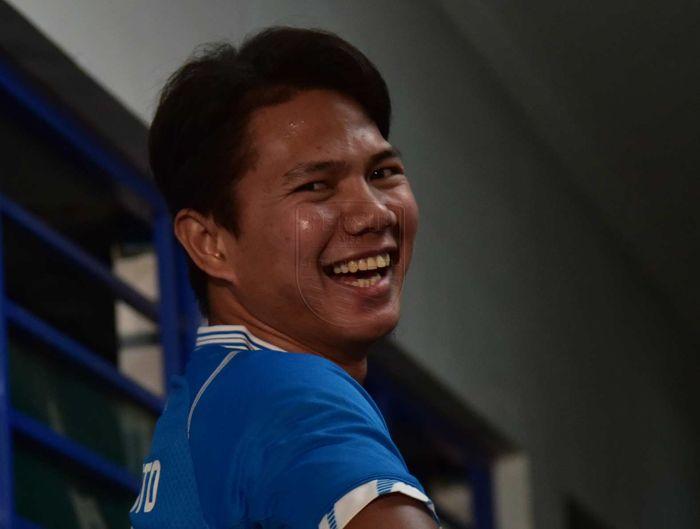 Bek anyar milik Persib Bandung, Achmad Jufriyanto.