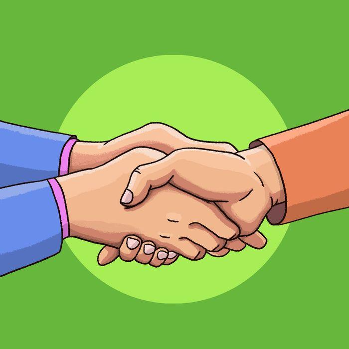 5 jenis berjabat tangan dan artinya.