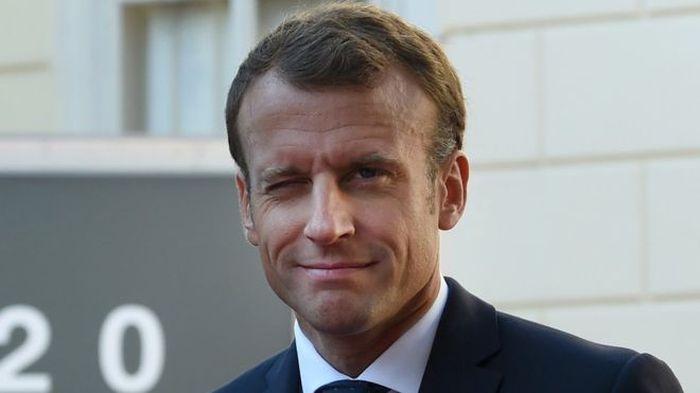 Emanuel Macron, Presiden Prancis.