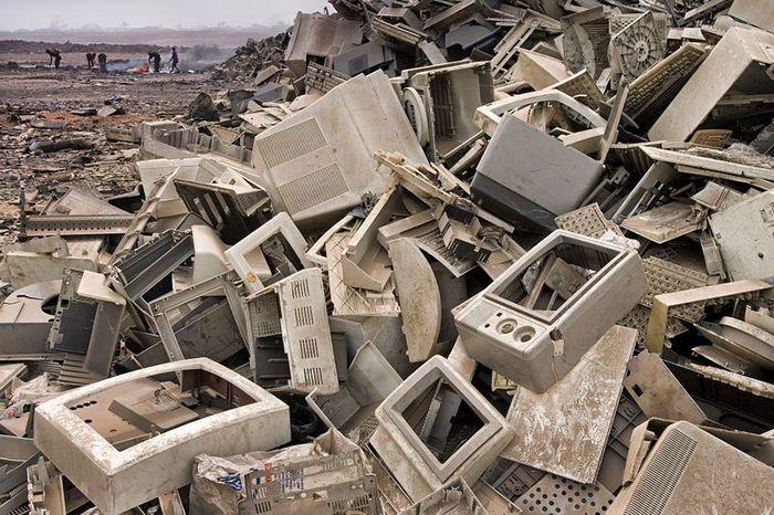 Residuos electrónicos.