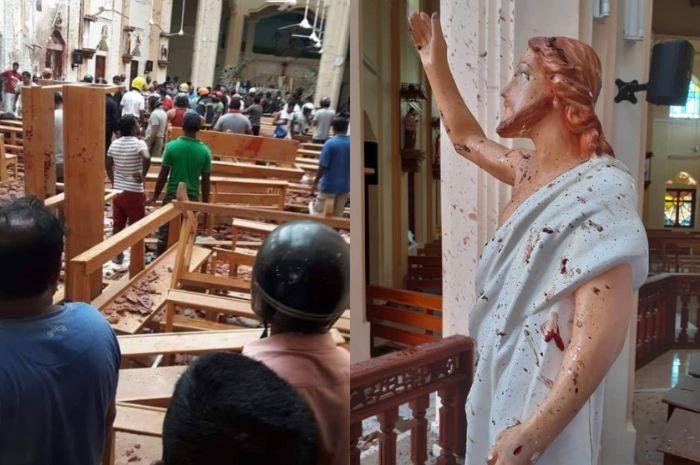Serangan bom Sri lanka