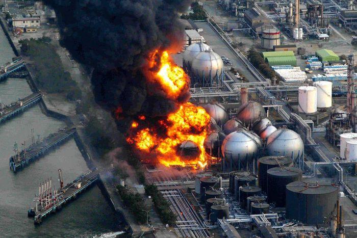 Tragedi kebakaran di reaktor nuklir Fukushima