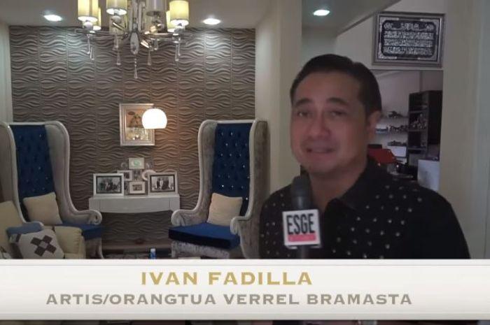Ruang tengah rumah Ivan Fadilla