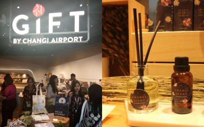 Changi Scent, pengharum khas Changi Airport