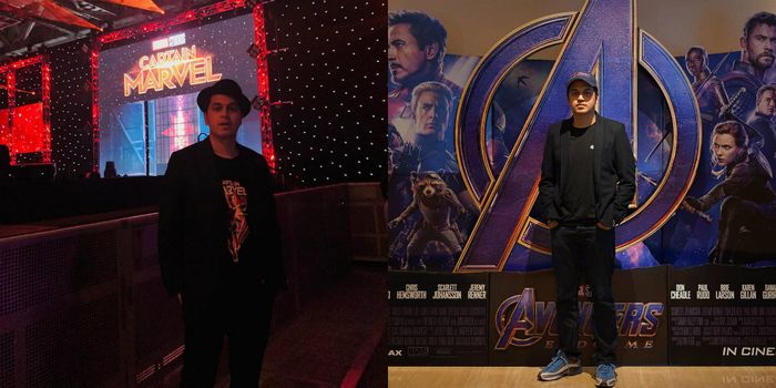 Kevin Julio nonton Avengers End Game