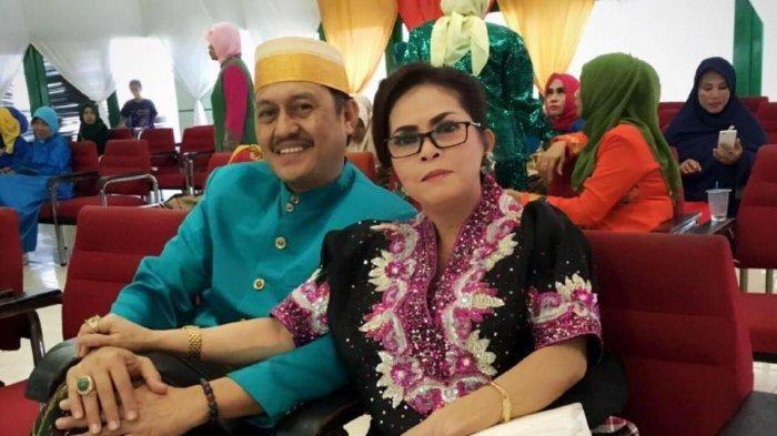 Orang tua Fadel Islami yang merupakan guru besar dan mantan anggota DPRD Sulawesi Selatan