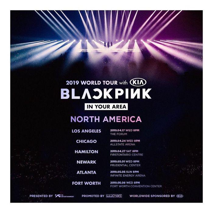 Jadwal konser Blackpink