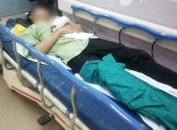 Korban telah ditangani pihak medis.