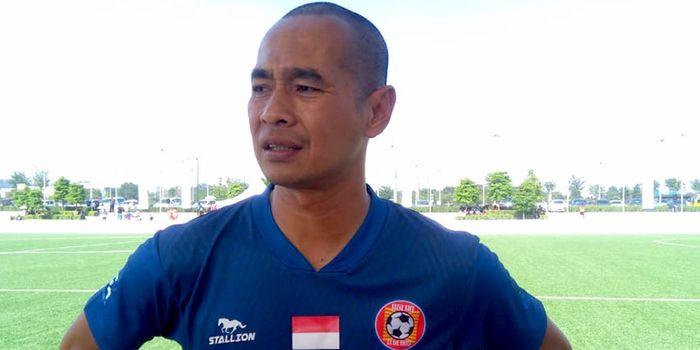Mantan striker timnas Indonesia, Kurniawan Dwi Yulianto, resmi menjadi pelatih Sabah FA.