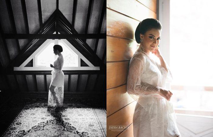 Update Pernikahan #AishLoveStory : Tampilan Terbaru Irish Bella dengan Kebaya Putih dan Makeup Flawless